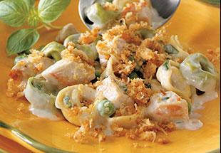 Cheesy Chicken Tortellini Bake Recipes Pampered Chef