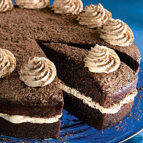 Pampered Chef Mocha Cappuccino Cake