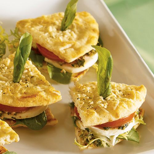 Caprese Mini Sandwiches - Recipes | Pampered Chef US Site