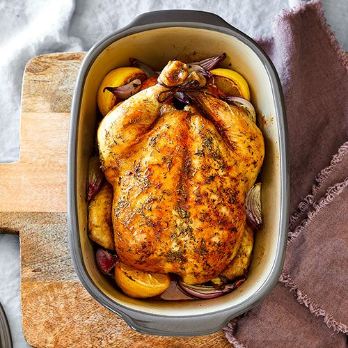 Juiciest Roast Chicken