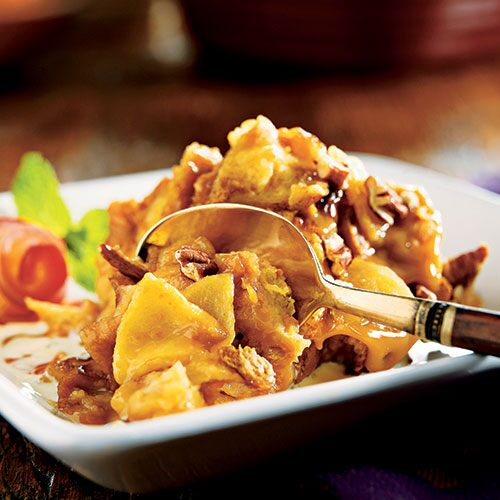 Caramel Apple Bread Pudding - Recipes | Pampered Chef US Site