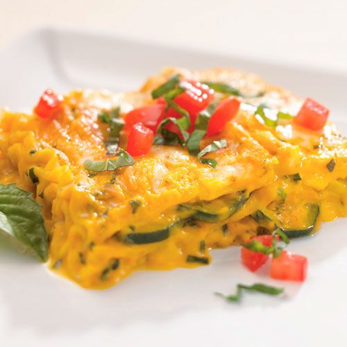 Squash Lasagna with Fresh Basil