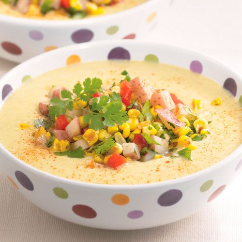 Creamy Roasted Corn Chowder
