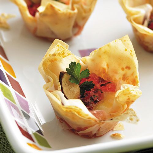 Tangy Phyllo Gouda Gems