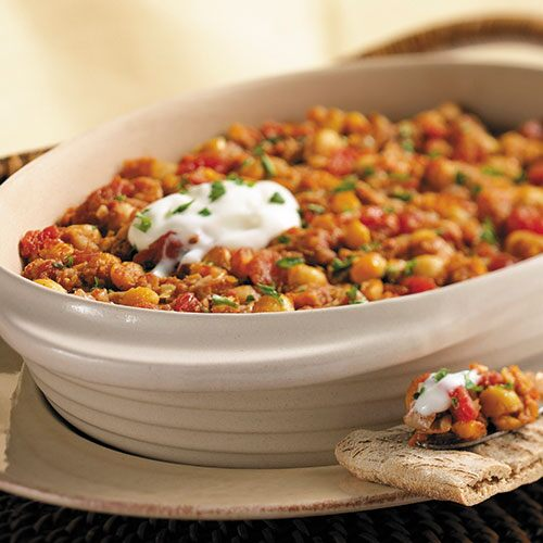 Spicy Chickpea Dip