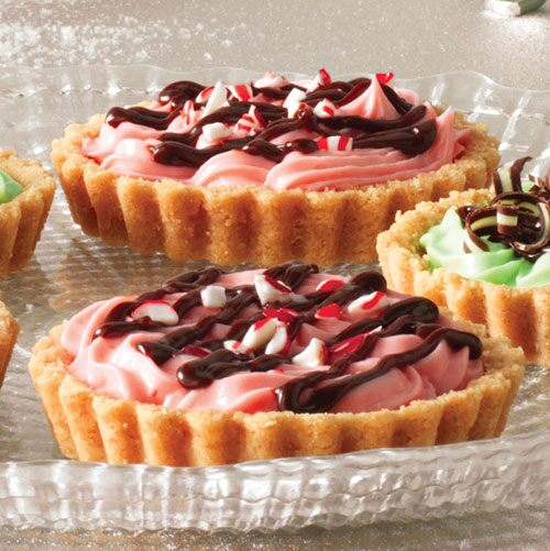 Peppermint Holiday Tarts