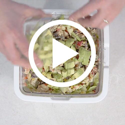 Play Southwestern Salad Video