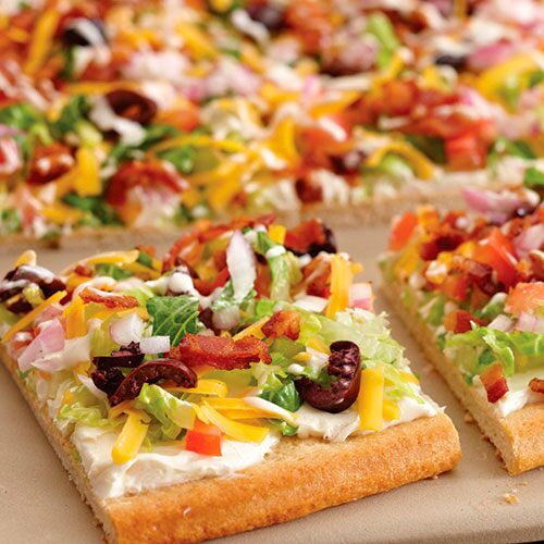 BLT Ranch Salad Pizza - Recipes   Pampered Chef US Site
