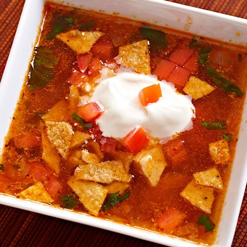 Quick Tortilla Soup