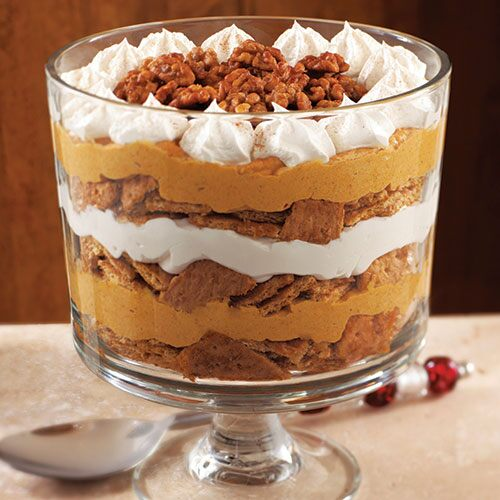 Pumpkin-Maple Cream Trifle - Recipes | Pampered Chef US Site