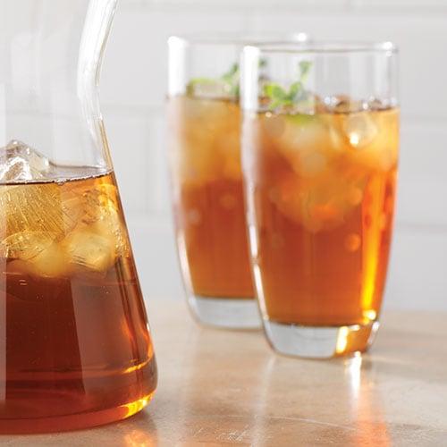 citrus mint iced tea ingredients 2 1 2 cups 125 ml fresh mint leaves 4 ...