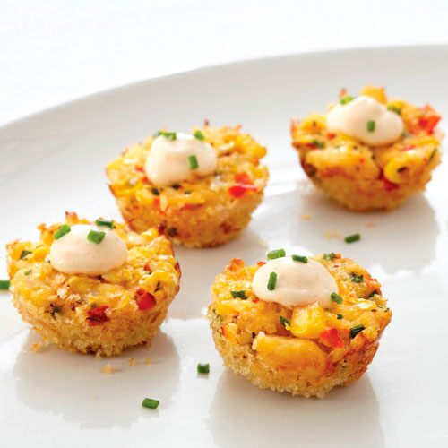 Corn Cake Appetizer Recipe