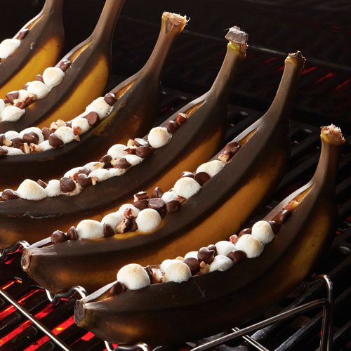 Grilled Banana Boats