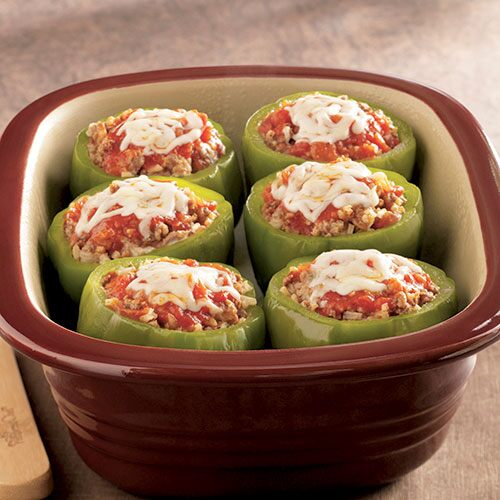 Italian Stuffed Bell Peppers