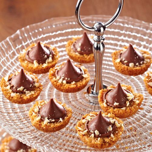 Chocolate-Almond Tartlets