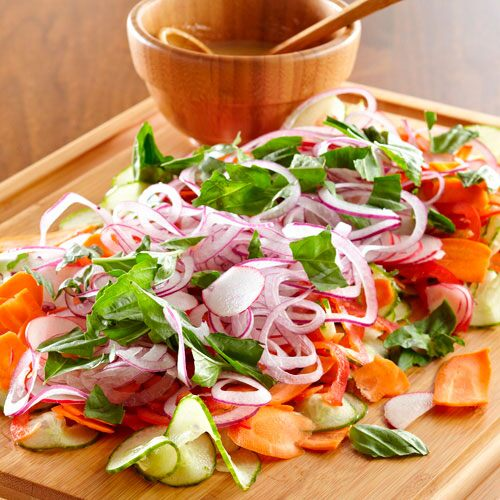 Spiral & Slice Ribbon Salad