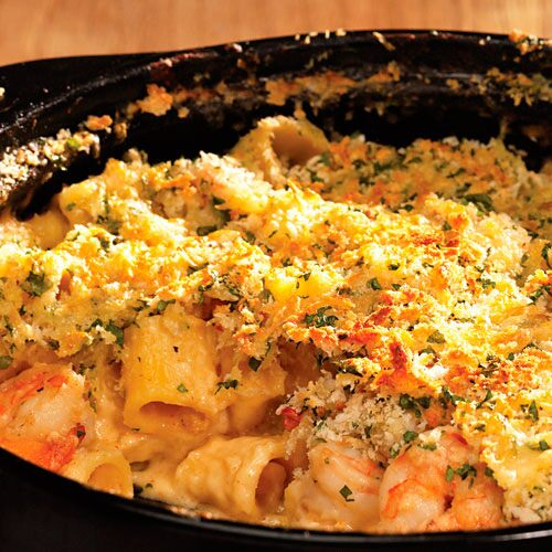 Baked Mac N Cheese With Shrimp Recipes Pampered Chef Us Site