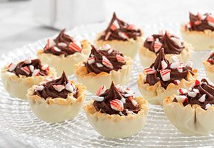 Chocolate Peppermint Tuxedo Cups Recipes Pampered Chef