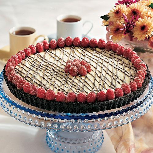 chocolate raspberry dream torte recipes pampered chef us site. Black Bedroom Furniture Sets. Home Design Ideas