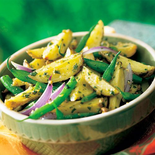 Potato and Green Bean Salad with Fresh Pesto