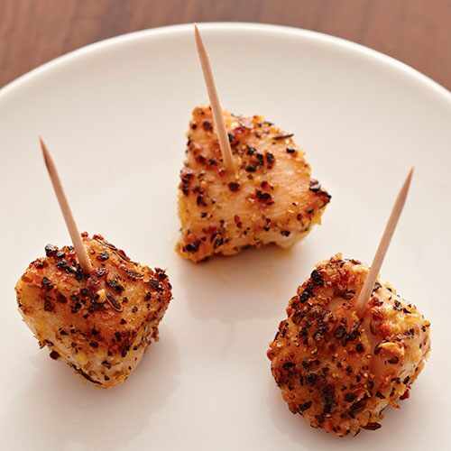 Crushed Peppercorn & Garlic Chicken Bites