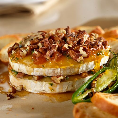 Tangy Pepper Pecan Brie Recipes The Pampered Chef