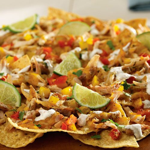 Jerk Chicken Nachos
