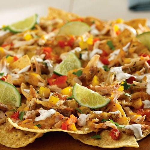 jerk chicken nachos recipes pampered chef us site