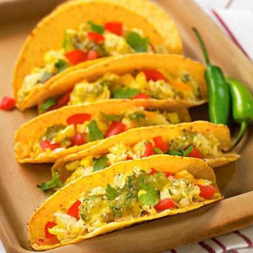 Breakfastbrunch recipes pampered chef us site crunchy breakfast tacos forumfinder Gallery