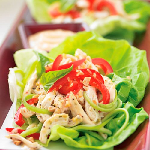 ... thai basil turkey wraps steamy kitchen recipes thai basil turkey
