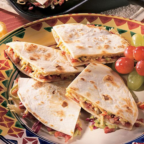 Reuben Quesadillas - Recipes | Pampered Chef US Site