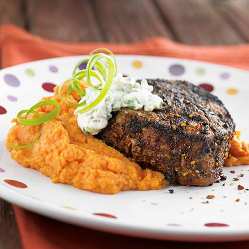 Chipotle-Rubbed Beef Filets