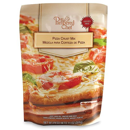 Gluten-Free Pizza Crust - Recipes | Pampered Chef US Site