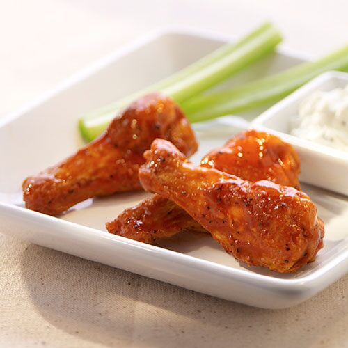 Smoky Buffalo Chicken Wings