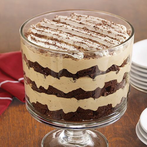 Chocolate Peanut Butter Trifle Pampered Chef