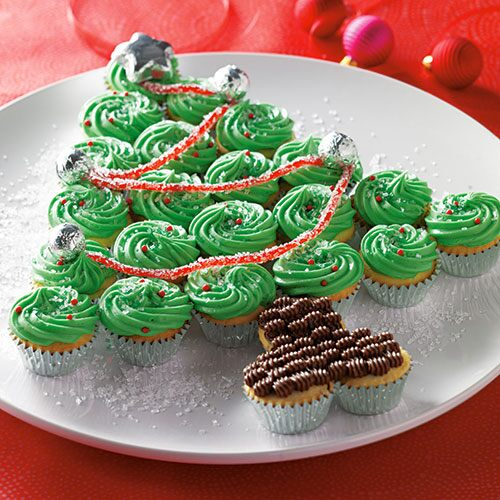 Mini Cupcake Christmas Tree