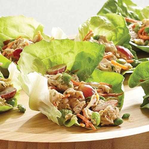 Asian chicken lettuce
