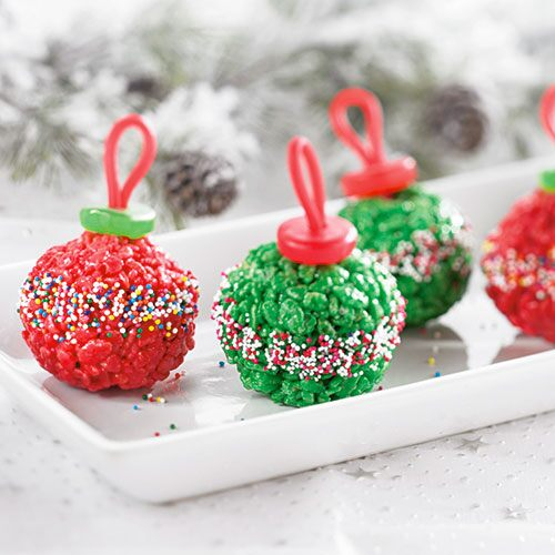 Marshmallow Treat Ornaments