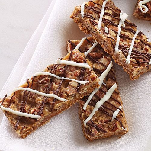 Chocolate Praline Toffee Crisps