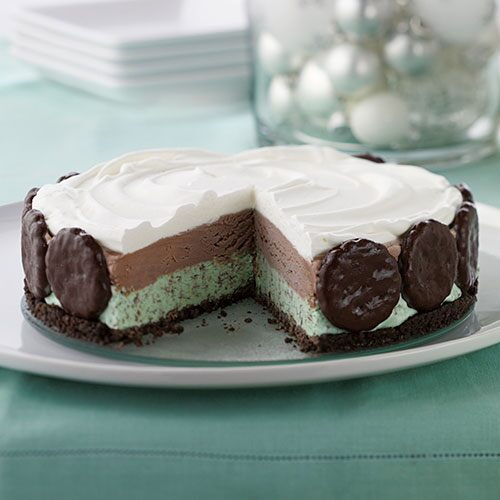 Mint Chocolate Ice Cream Cake - Recipes | Pampered Chef US ...