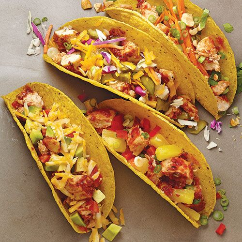 Chicken Tacos Your Way