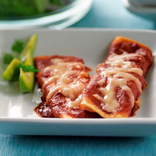 Stovetop Cheese Enchiladas