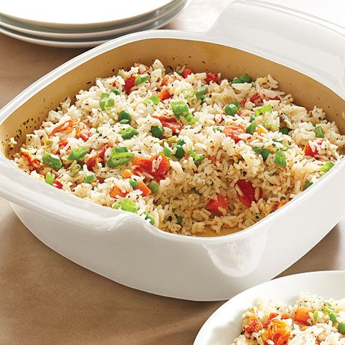 Mediterranean-Style Baked Rice - Recipes