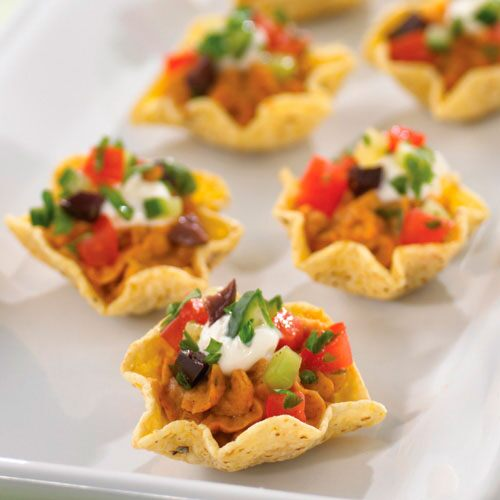 Moroccan Hummus Cups