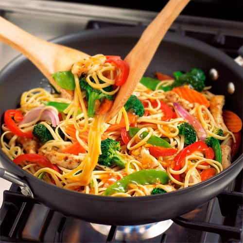 Chicken & Noodle Stir-Fry