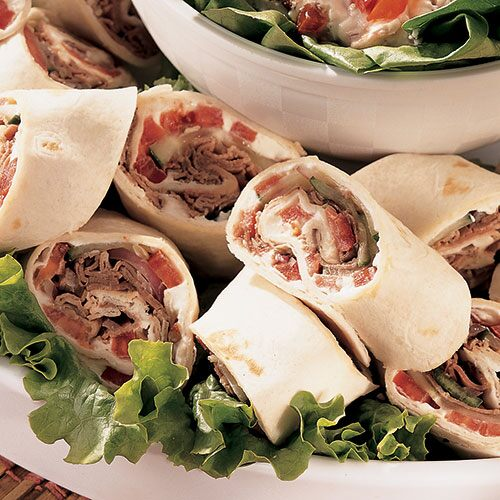 Roast Beef Roll-Ups - Recipes | Pampered Chef US Site
