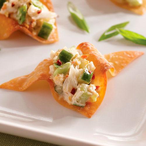 Asian crab cucumber recipe salad