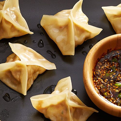 Turkey Wontons with Asian Dipping Sauce