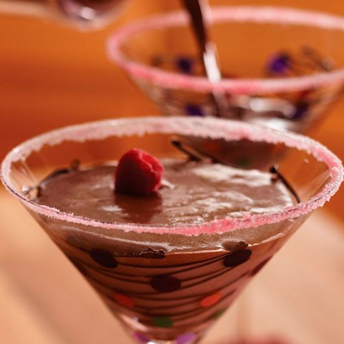 Chocolate-Raspberry Martinis - Recipes | Pampered Chef US Site