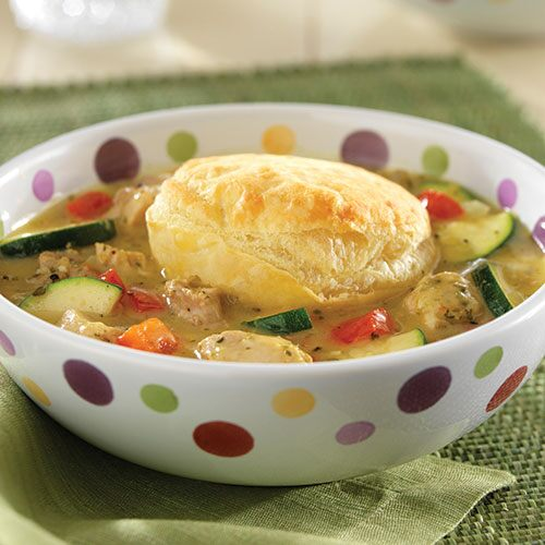 Greek Chicken Pot Pies